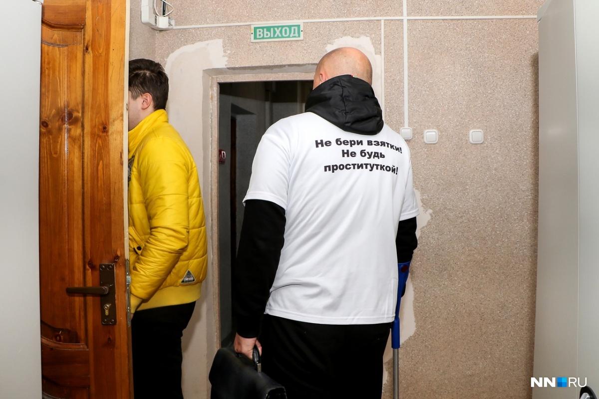 Депутат пришёлв «говорящей» футболке