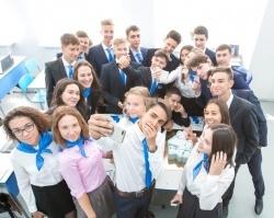 В Уфе открылся первый в республике «Газпром-класс»