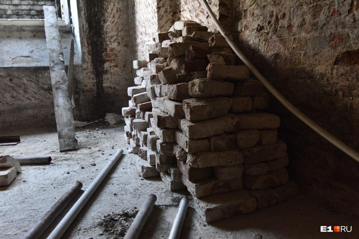 В подвальной части «Эрмитаж-Урала» будут находиться технологические помещения (вентиляция и т.д.)