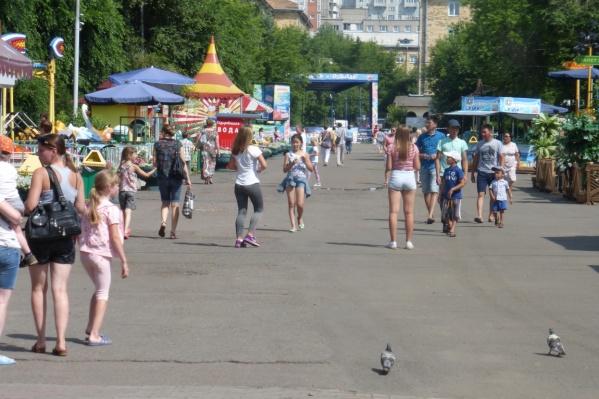 Эта неделя в Красноярске будет по-летнему теплой