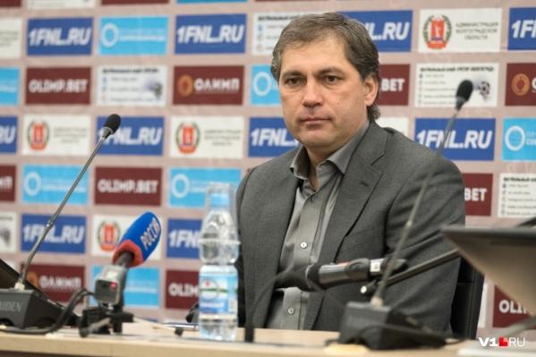 Роберт Евдокимов будет тренировать «Нижний Новгород»