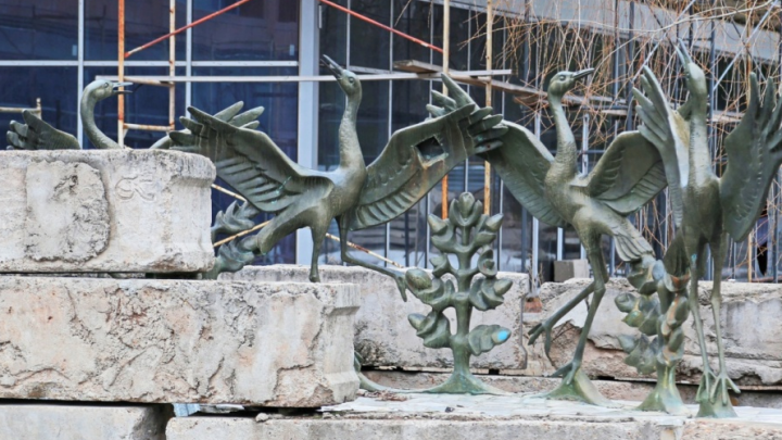Стало известно, что будет с долгостроем у фонтана «Танцующие журавли» в Уфе