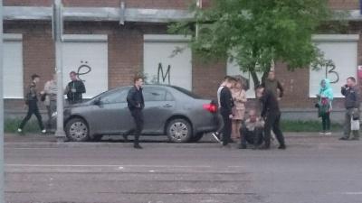 В Ярославле молодые люди остановили пьяного водителя