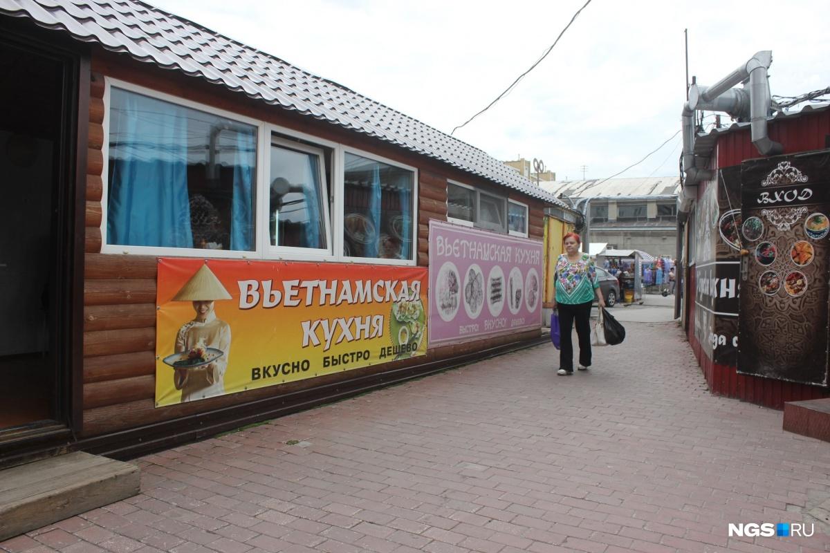 Павильон на Ленинском рынке