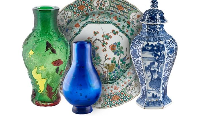 В музее ИЗО покажут уникальные китайские чайные сервизы с драконами и вазы с бабочками