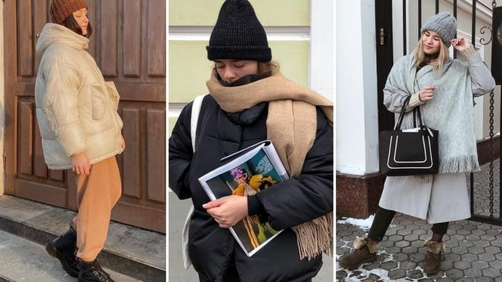 Странная шапка, оливковая куртка: ярославские блогеры показали, как одеваться зимой