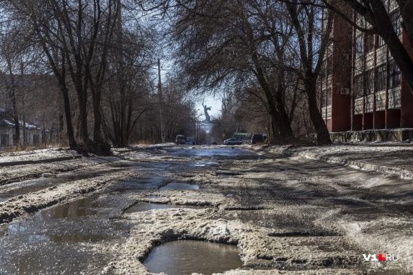 Зима в этом году в Волгограде никак не определится, чего ей хочется
