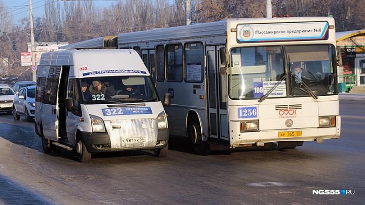 Маршруты автобусов изменят на два дня из-за перекрытий в центре Омска