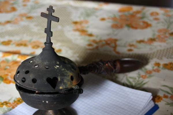 Старообрядческая кадильница-кацея, которую в одной из семей используют с XIX века по сей день<br><br>