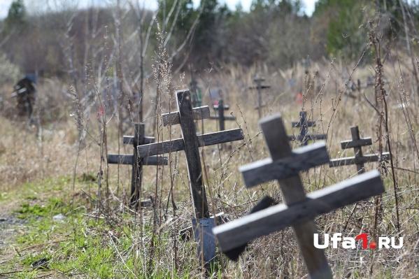 Мест на кладбищах Уфы уже не хватает