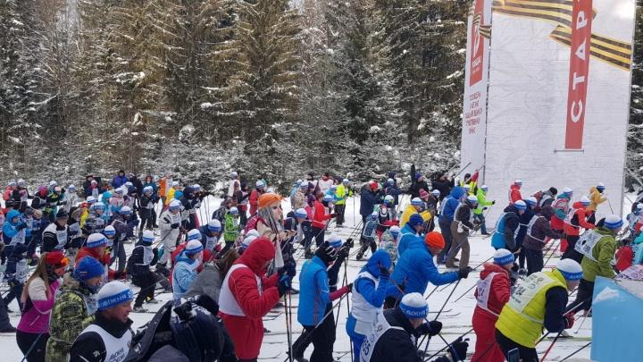 «Галамартовские» коты вышли на «Лыжню России» в Перми