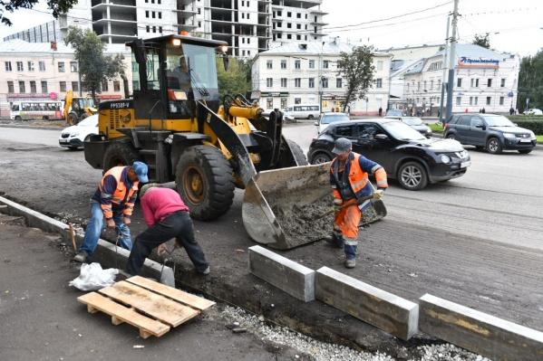Ярославцы недовольны тем, как долго идут работы
