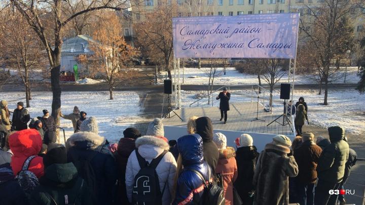 В Самаре открылась обновленная сцена в сквере Высоцкого
