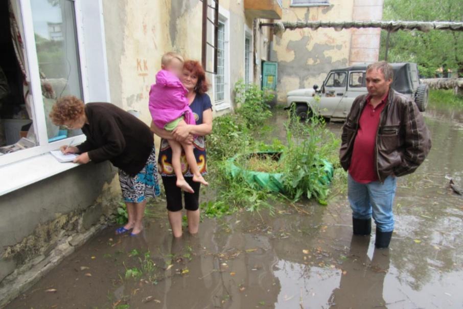 Дом уходил под воду с каждым сильным ливнем