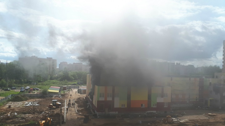«Это очень страшно»: в Ярославле горел детский сад