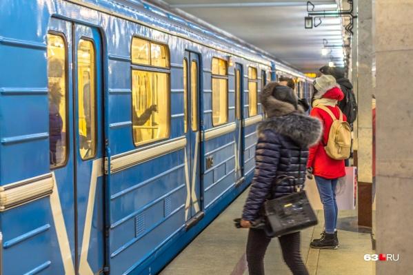 Сейчас самарский метрополитен связывает промзону с центром города