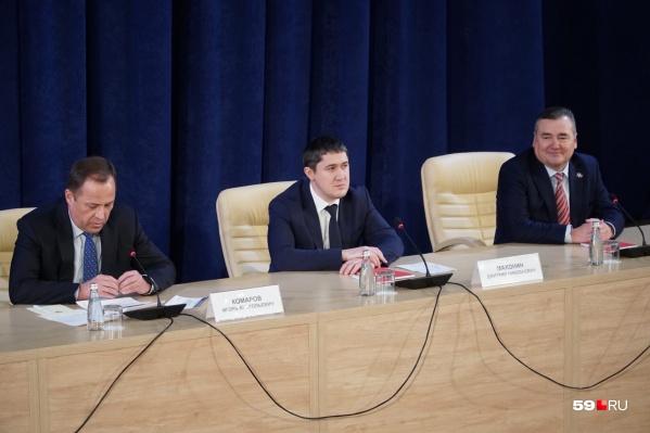 Дмитрия Махонина назначили на пост врио вчера, 6 февраля