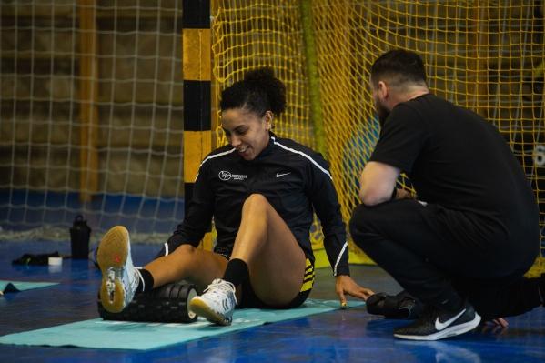 Ана Паула впервые за долгое время тренировалась в составе клуба