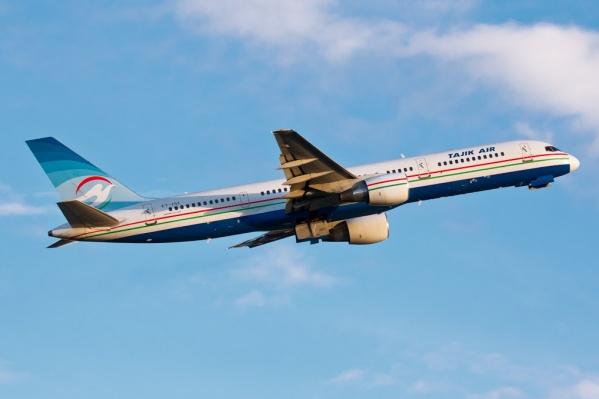 В Новосибирск самолёты Tajik Air летали изХуджанда иДушанбе