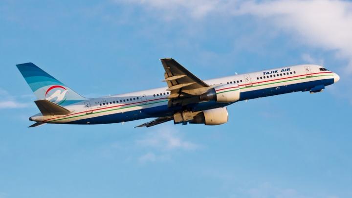 Национальная авиакомпания Таджикистана перестала летать в Новосибирск