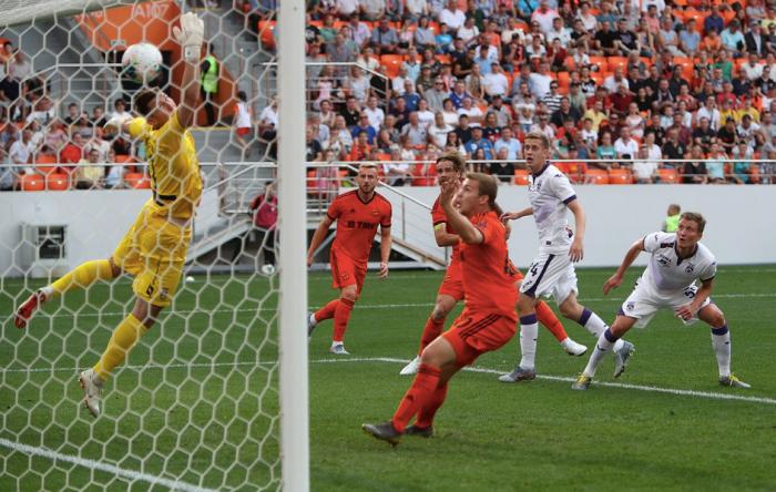 Эрик Бикфалви сделал дубль в матче с «Уфой»