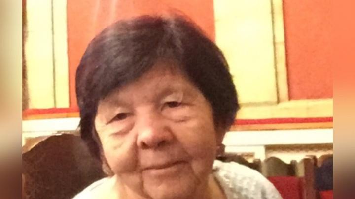 Срочный сбор на поиски. В Перми пропала 85-летняя пенсионерка с болезнью Альцгеймера