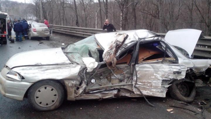 В Самаре осудили водителя грузовика, который выехал на встречку без тормозов
