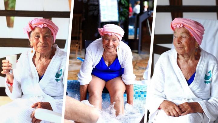 «Это тебя Ургант в баню позвал»: героине Народной премии НГС устроили день в спа-центре