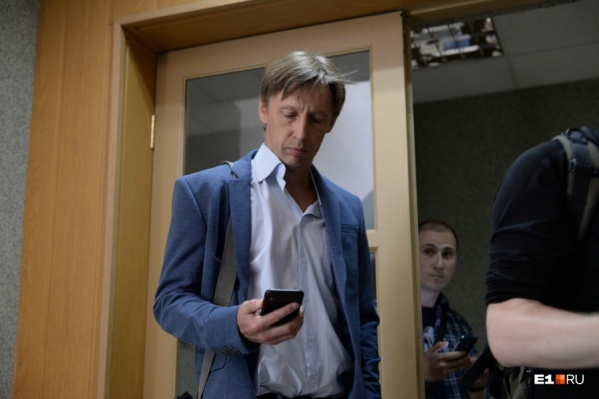 Юрия Юдина взяли под стражу прямо в зале суда