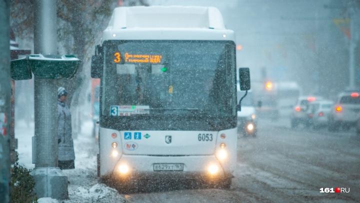 В Ростове общественный транспорт на Рождество будет работать до 3 часов ночи