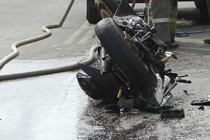 Авария произошла в Троицком районе