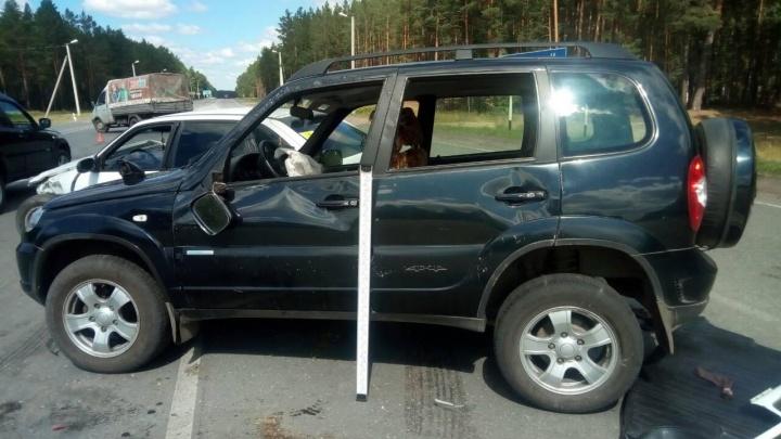 В Кетовском районе две женщины получили травмы в ДТП