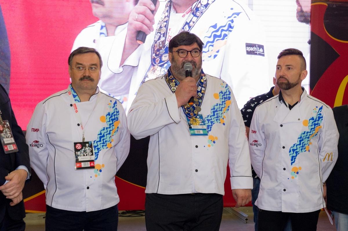Кулинарный чемпионат России судил новосибирец