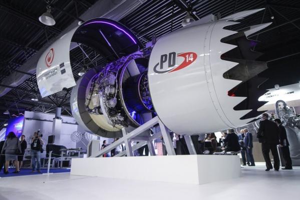 Так выглядит самолетный двигатель