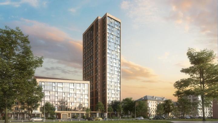 В центре Екатеринбурга появится стеклянный дом с квартирами без стен