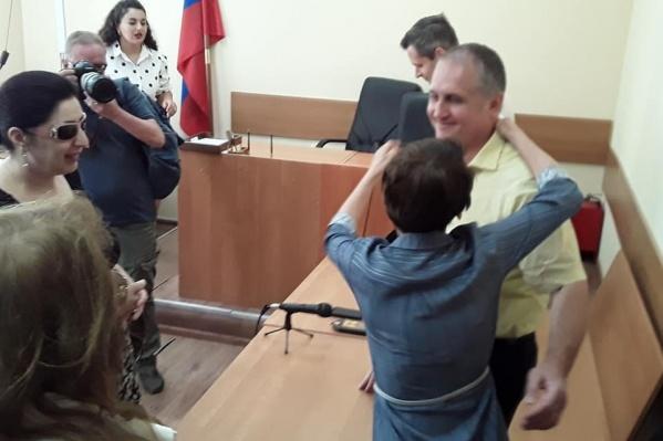 Банкира оправдали в Ленинском районном суде
