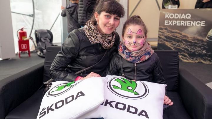 В Уфе прошел уникальный мультимедийный тест-драйв KODIAQ EXPERIENCE