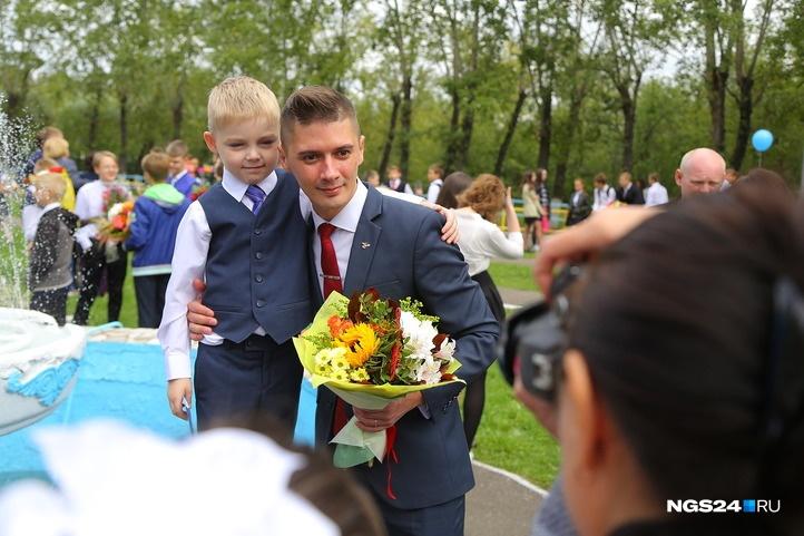 34-летний «Учитель года» Сергей Пикалов