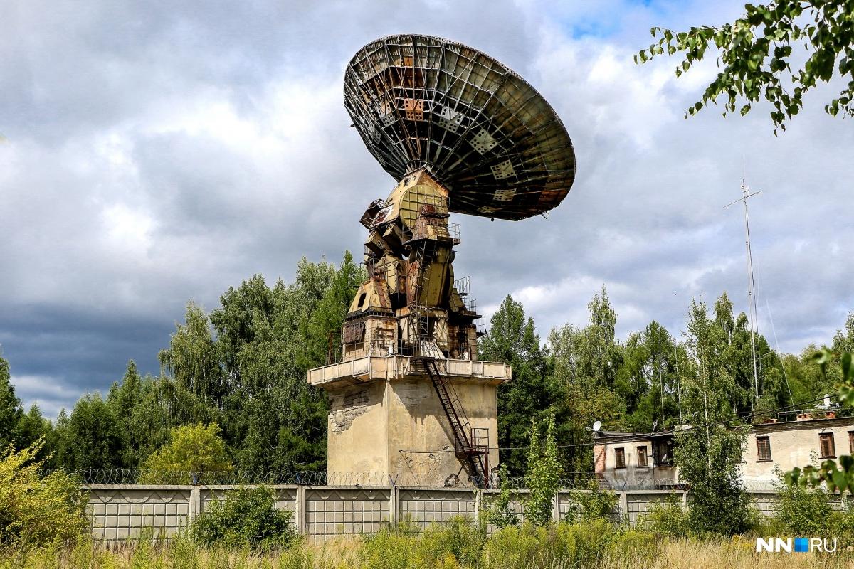 Нижегородская «Зона 51»: гуляем по ветхому радиоастрономическому комплексу для поиска пришельцев