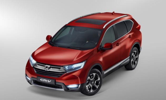 Названа цена новой 2-литровойHonda CR-V