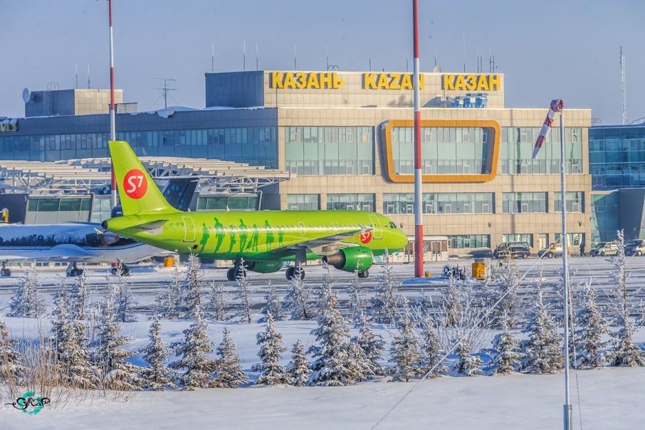 Сейчас пассажиры находятся в аэропорту Казани