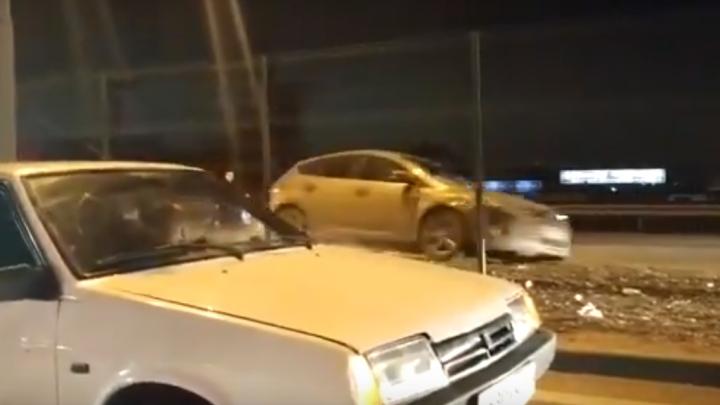 Ехал по встречке, сметая все на пути: в Ростове полицейские устроили погоню за пьяным водителем