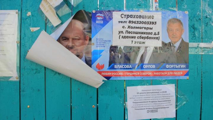 «Упавший» губернатор и «урожай»: как агитируют кандидаты в депутаты на Севере