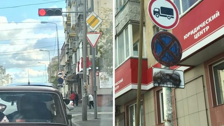На улице Ленина вернули парковку и стоянку в надежде на новые рабочие места