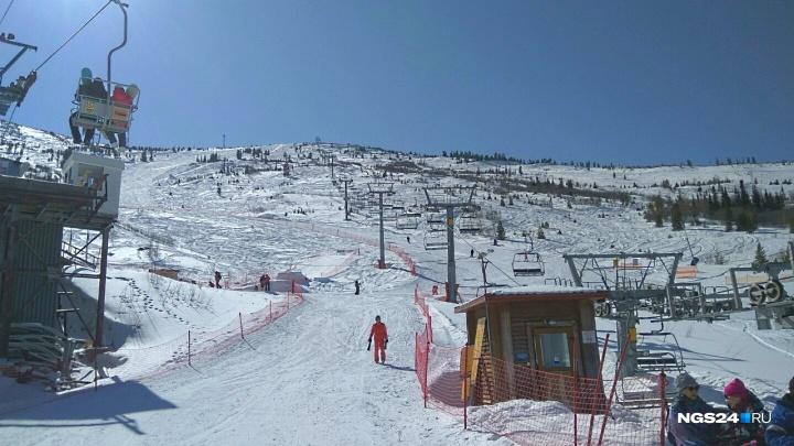 Красноярцы открыли лыжный сезон в Ергаках