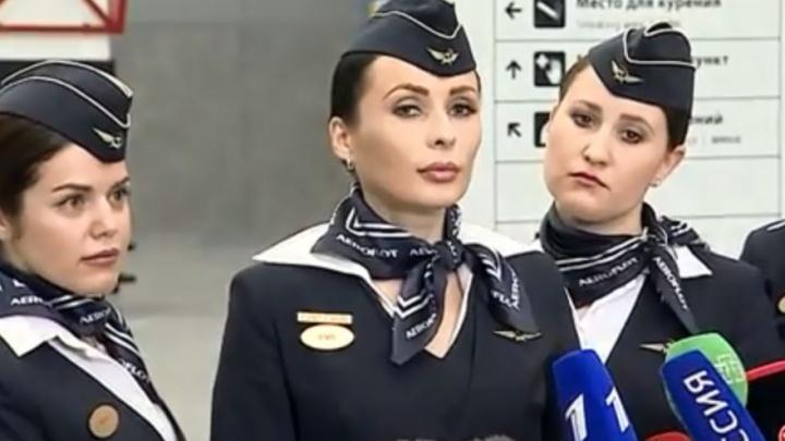 Стюардессы захваченного самолёта рассказали, что угонщик угрожал оружием, но не был пьян