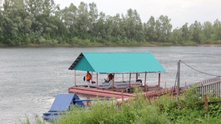Ночных купальщиков унесло течение реки Уфы