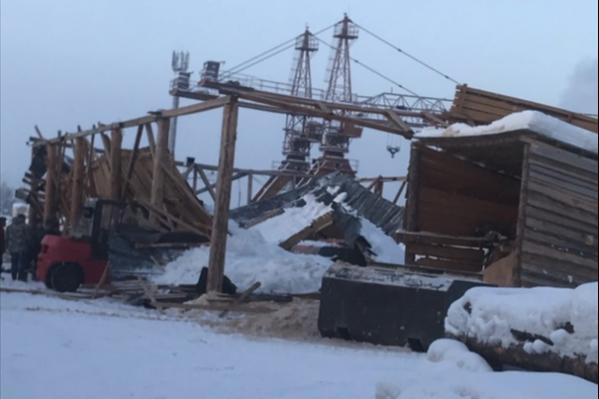Крыша рухнула вчера, 19 декабря
