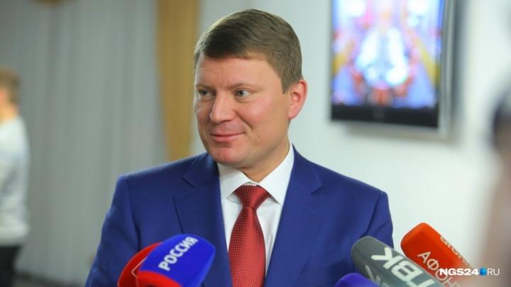 Мэру Красноярска Сергею Еремину поднимают зарплату на 20%
