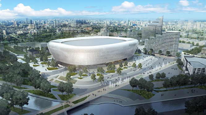УГМК покажет финальный вариант ледовой арены на месте телебашни на Градсовете у губернатора
